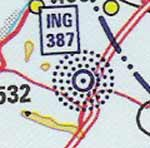 NDB, aeronautic chart