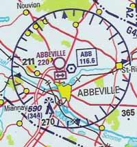 VOR, aeronautic chart